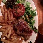 La bistecca alla salsa bernaise