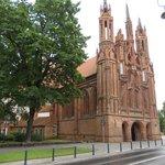 prospetto  della chiesa di s. anna