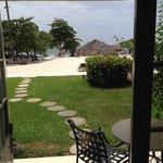 Beachfront Honeymoon Walkout Palms Building