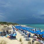 teranga beach dalle dune