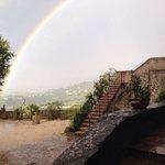 Arcobaleno in Rosciano