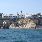 Nice view of the Algarve coast from the boat