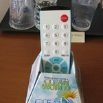 Love the clean remote