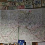 Hiking maps of the area, and you can hire them from the hostel