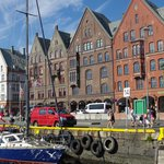 Bergen's port is right out the front door