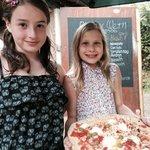 Pizza al fresco!
