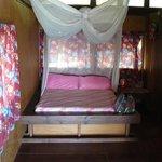 l'interieur du bungalow