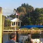 Dockside Grille outdoor dining