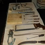 Surgical tools of the time era!