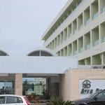 front of Avra Beach Hotel