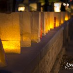 Our Luminaries happen once a year. Photo by Michael Paul Photoworks