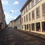 Lovely quaint street in haga
