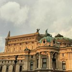 Palais Garnier at Sunset