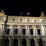 Palais Garnier at Night
