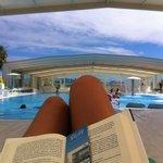 Y si llueve, tu tranquilo!!! Se cierra la piscina y quedas en la gloria !!!