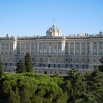 Stunning views of the Royal Palace