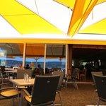 Restaurant from terrace