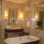 Bathroom in the Deluxe room