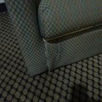 Couch in suite