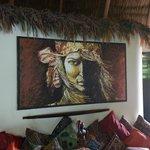 Terrin art in lobby area