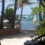 Beach view from Mambo lounge