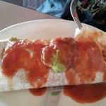 Super Burrito (we added the sauce)