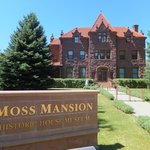 Moss Mansion front view