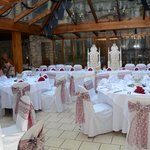 Gorgeous wedding function room