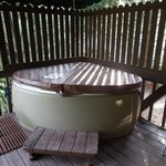 Chris's Cabin Hot Tub