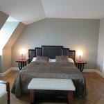 """sleeping area; fifth floor non-suite """"suite"""""""