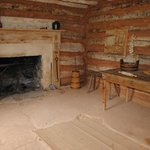 Interior of slave cabin
