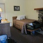 """another view of our """"large cabin"""" room"""