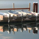Boats for rental at the dock