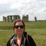 Manhã de verão em Stonehenge