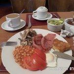 El desayuno, si quedas con hambre, te sirves más