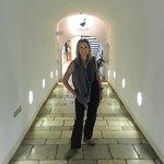 Cool vibe hallway