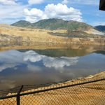 don't be fooled - it looks pretty but toxic! Berkley Pit-Butte MT