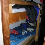 "Inside the ""downstream bunkroom"" (photo taken 2005)"