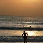 beach a short walk away