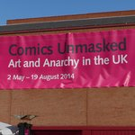 Comics Unmasked special exhibition at British Library