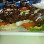Beef stew sandwich (Baka Stoba)