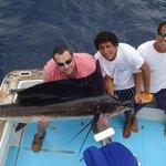 sailfish fishing from four seasons Costa Rica
