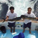 Mahi fishing from Four Seasons Costa Rica