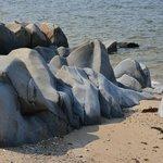 Tidal Erosion of the rocks on Hudson bay