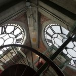Clock tower from the inside