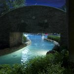 Lazy river at night