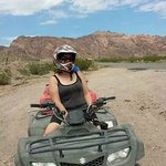The ATV ride.
