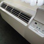 Air Conditioner Unit in room 126  - 1 Queen Room
