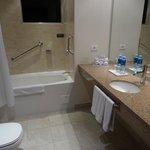 bathroom in room 1111