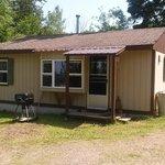 Our standard 2 bedroom cabin